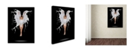 "Trademark Innovations Pauline Pentony Ba 'Liquidize' Canvas Art - 24"" x 18"" x 2"""