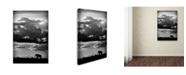 """Trademark Global Wildphotoart 'He Walks Under An African Sky' Canvas Art - 24"""" x 16"""" x 2"""""""