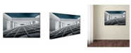 "Trademark Global Michiel Hageman 'Corridors Of Power' Canvas Art - 47"" x 30"" x 2"""