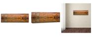 "Trademark Global Sho Shibata 'Glowing Autumn' Canvas Art - 24"" x 8"" x 2"""