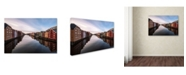 "Trademark Innovations Par Soderman 'Trondheim Norway' Canvas Art - 32"" x 22"" x 2"""