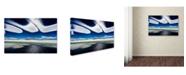 """Trademark Global Ralf Kayser 'Icewind' Canvas Art - 24"""" x 16"""" x 2"""""""