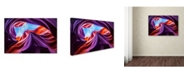 "Trademark Global Nanouk El Gamal 'Magical Lower Antelope Canyon' Canvas Art - 32"" x 22"" x 2"""