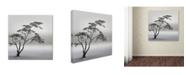 """Trademark Global Piet Flour 'A Very Long Story' Canvas Art - 18"""" x 18"""" x 2"""""""