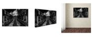 "Trademark Global Mladjan Pajkic 'To The Train' Canvas Art - 24"" x 16"" x 2"""