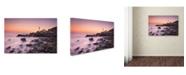 """Trademark Global Michael Zheng 'Portland Headlight' Canvas Art - 32"""" x 22"""" x 2"""""""