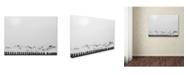 "Trademark Global Yvette Depaepe 'Seagulls Over The Fields' Canvas Art - 32"" x 24"" x 2"""