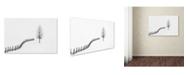 "Trademark Global Sveduneac Dorin Lucian 'S I L E N C E' Canvas Art - 32"" x 22"" x 2"""