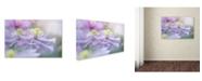 """Trademark Global Jacky Parker 'Clematis Mayleen' Canvas Art - 47"""" x 30"""" x 2"""""""