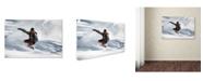 "Trademark Global Jakob Sanne 'Frozen Moment' Canvas Art - 32"" x 22"" x 2"""