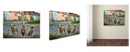 "Trademark Global Sorin Onisor 'The Three Musketeers' Canvas Art - 47"" x 35"" x 2"""