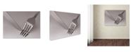 "Trademark Global David Caballero 'Anxiety' Canvas Art - 24"" x 18"" x 2"""