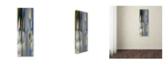 "Trademark Global David Jordan Williams 'Geary 3' Canvas Art - 47"" x 16"" x 2"""