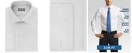 Michael Kors Men's Slim-Fit Airsoft Stretch Moisture-Wicking Non-Iron French-Cuff Dress Shirt