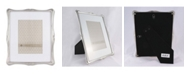 """Lawrence Frames 710280 Silver Metal Romance 8x10 Matted For Picture Frame - 5"""" x 7"""""""