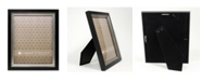 """Lawrence Frames Black with Burnished Silver Inner - 8"""" x 10"""""""