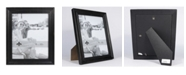 """Lawrence Frames Durham Weathered Black Wood Picture Frame - 8"""" x 10"""""""