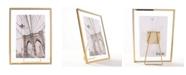 "Lawrence Frames Garett Gold Metal Float - 4"" x 6"""