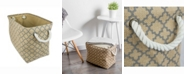 Design Imports Burlap Bin Lattice, Rectangle