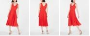 INC International Concepts I.N.C. Pleated-Skirt Midi Dress, Created for Macy's