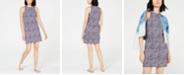 Michael Kors Printed Mini Dress, In Regular and Petite