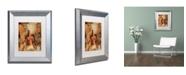 """Trademark Global Joarez 'Totally Surrender' Matted Framed Art - 11"""" x 14"""""""