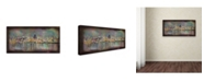"Trademark Global Ellicia Amando 'San Francisco' Canvas Art - 10"" x 19"""