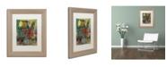 """Trademark Global Shana Doumingez 'Ringing the Bell' Matted Framed Art - 11"""" x 14"""""""