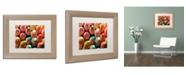 """Trademark Global Jason Shaffer 'Pencils' Matted Framed Art - 14"""" x 11"""""""