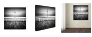 "Trademark Global Rob Cherry 'Utopia' Canvas Art - 14"" x 14"""