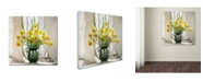 "Trademark Global The Macneil Studio 'Daffodils' Canvas Art - 14"" x 14"""