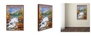 "Trademark Global Lantern Press 'Illustration 29' Canvas Art - 12"" x 19"""