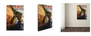"Trademark Global Lantern Press 'People 16' Canvas Art - 12"" x 19"""