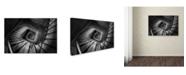 "Trademark Global Moises Levy 'Infinito Cuadrado C' Canvas Art - 12"" x 19"""