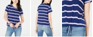 Ultra Flirt Juniors' Bungee-Hem T-Shirt