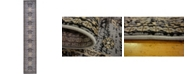 "Bridgeport Home Charvi Chr1 Gray 3' x 16' 5"" Runner Area Rug"