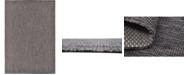 Bridgeport Home Pashio Pas6 Black 7' x 10' Area Rug