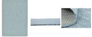 """Bridgeport Home Pashio Pas6 Aquamarine 8' x 11' 4"""" Area Rug"""
