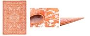 Bridgeport Home Norston Nor1 Terracotta 7' x 10' Area Rug