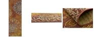 Bridgeport Home Pashio Pas2 Rust Red 2' x 6' Runner Area Rug