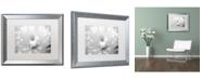 """Trademark Global PIPA Fine Art 'Infrared Flower 2' Matted Framed Art - 16"""" x 20"""""""