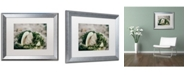 "Trademark Global PIPA Fine Art 'Seaweed and Shells' Matted Framed Art - 16"" x 20"""