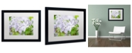 "Trademark Global PIPA Fine Art 'Soft Focus Phlox Carolina' Matted Framed Art - 16"" x 20"""