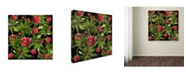 "Trademark Global Mark Ashkenazi 'Sumer Time 3' Canvas Art - 18"" x 18"""