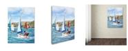 "Trademark Global The Macneil Studio 'Sailing' Canvas Art - 18"" x 24"""