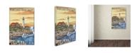 "Trademark Global Lantern Press 'Travel 65' Canvas Art - 16"" x 24"""