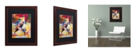 """Trademark Global Richard Wallich 'Rodeo' Matted Framed Art - 16"""" x 20"""""""