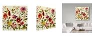 "Trademark Global Lisa Audit 'Lisa's Garden 1' Canvas Art - 18"" x 18"""