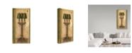 "Trademark Global Lisa Audit 'Lamp Trio' Canvas Art - 16"" x 32"""