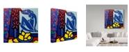 "Trademark Global John Nolan 'Homage To Matisse 1' Canvas Art - 18"" x 18"""